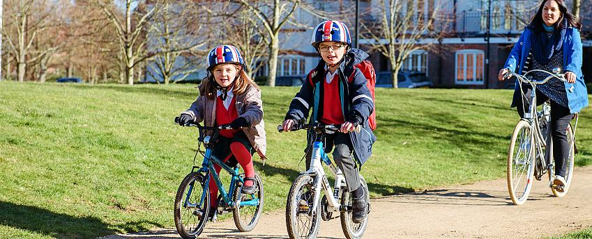 Only 2% of children in England cycled to school in 2019