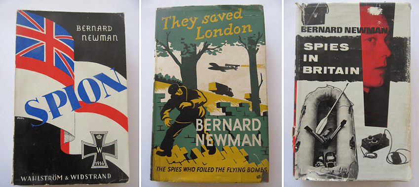Some of Bernard Newman's spy stories