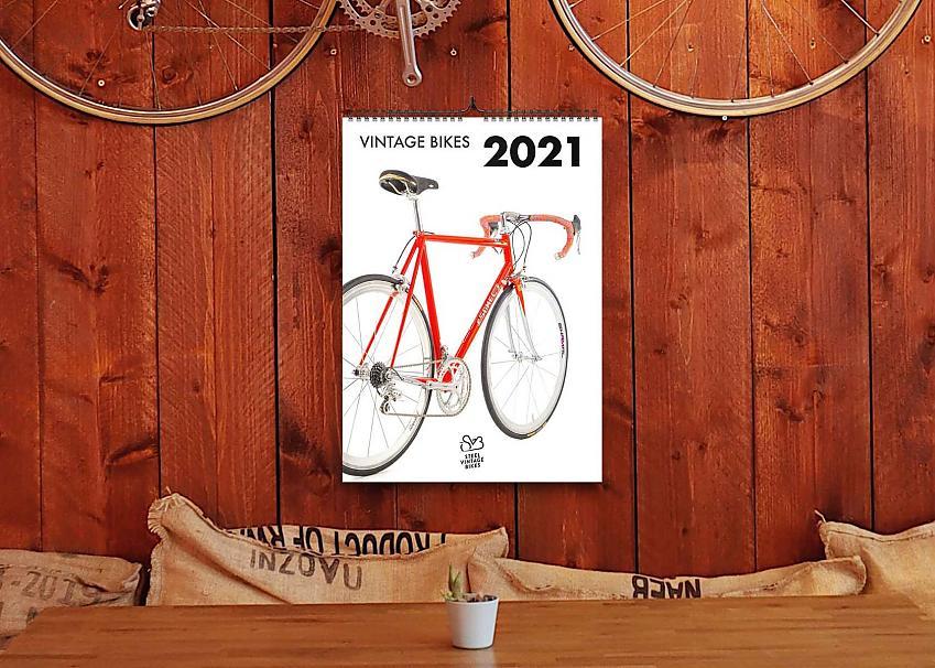 Vintage Bike Wall Calendar
