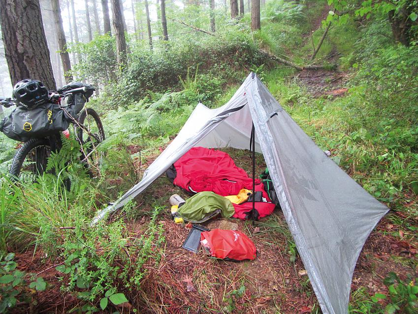 A typical night's accommodation