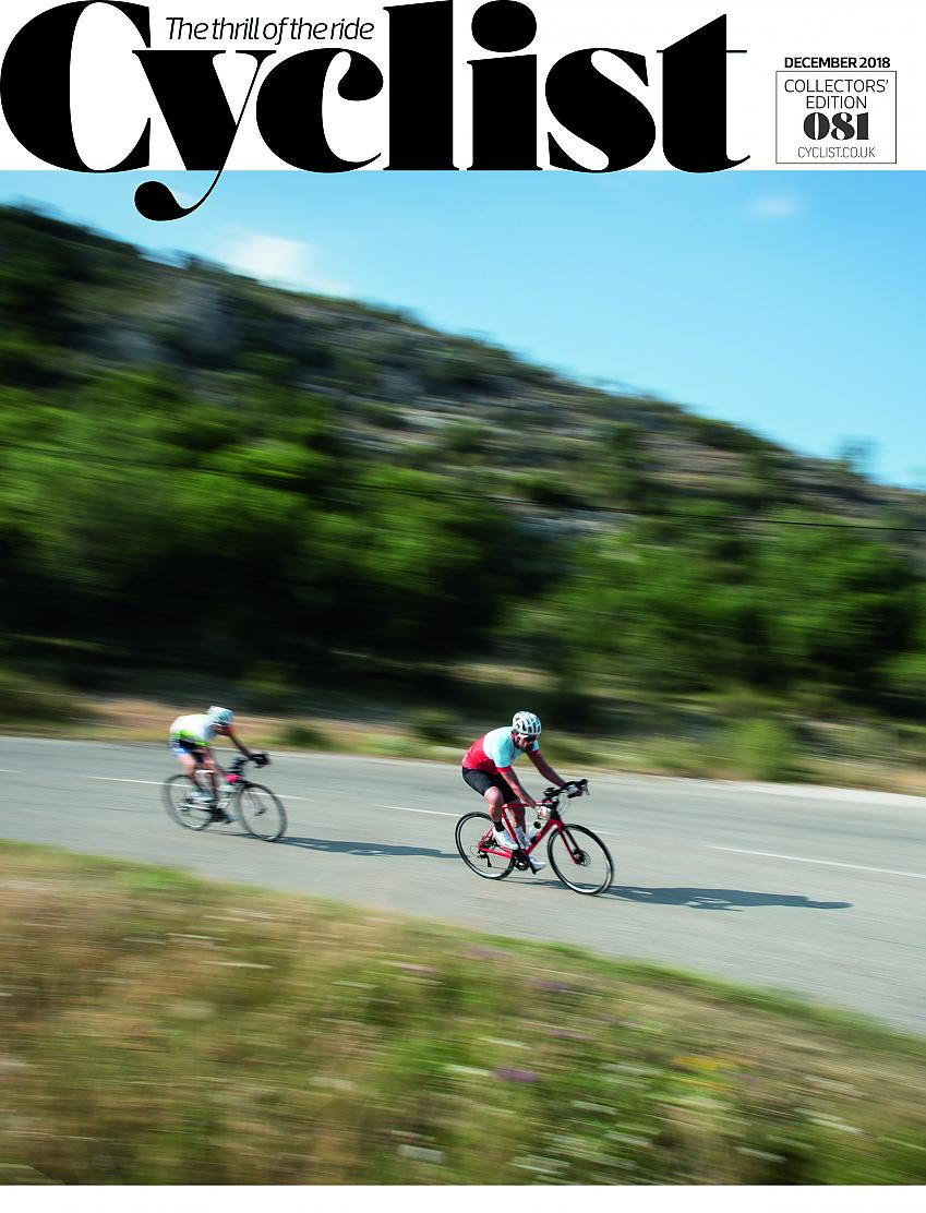 Cyclist cover December 2018