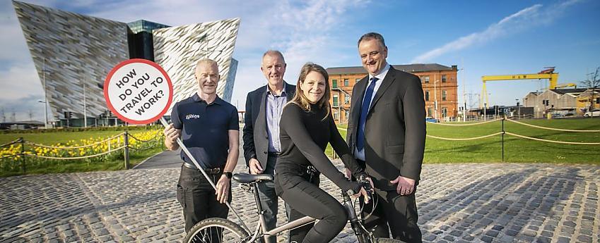 Launch of Cycle-friendly Employer scheme, Belfast