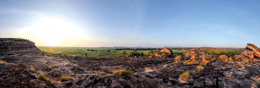 Ubirr, in the Kakadu National Park