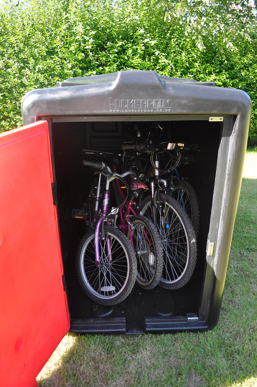 Dedicated Outside Cycle Storage Takes Up Less E Than An Shed