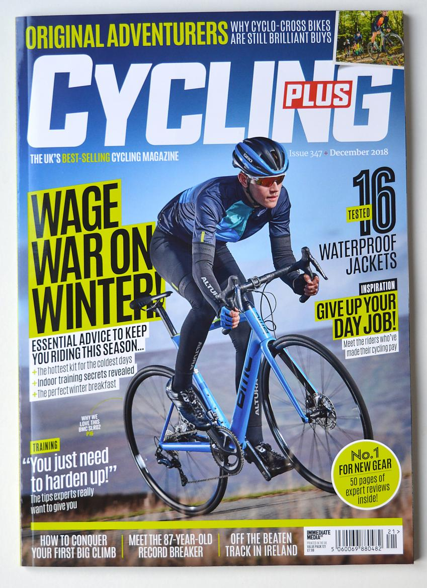 Cycling Plus cover 2018