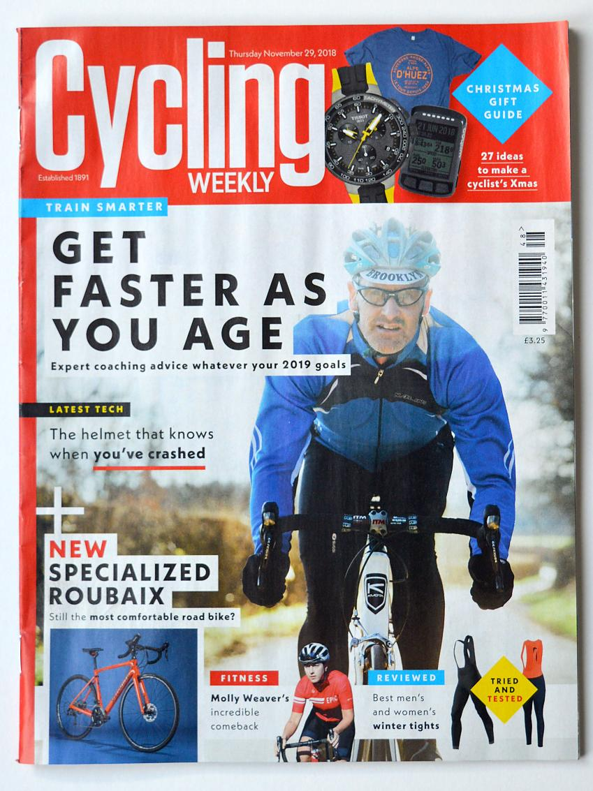 Cycling Weekly cover 2018
