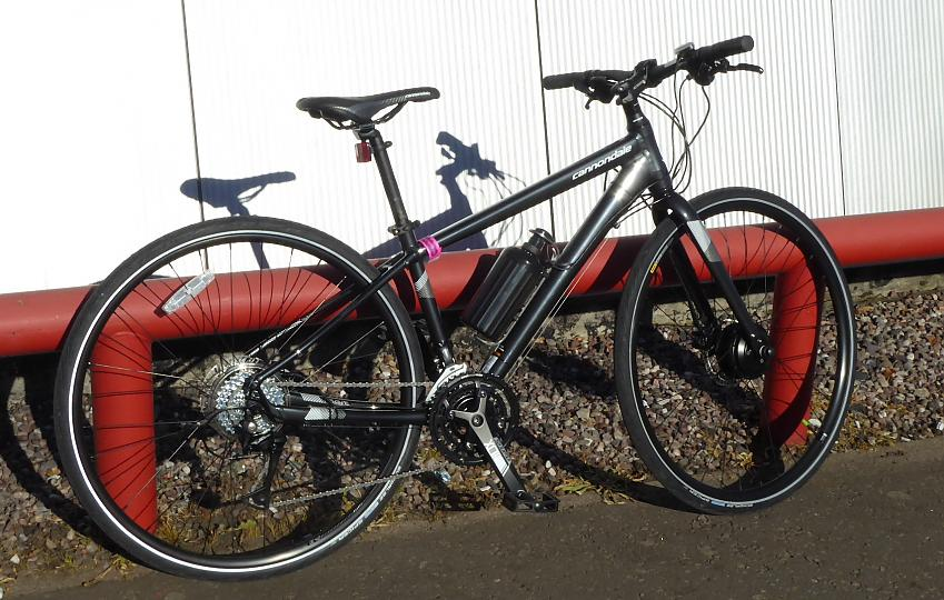Cytronex C1 system fitted to a lighweight Cannondale.