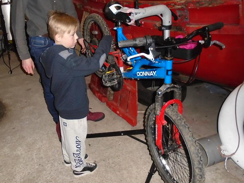 The Bike Kitchens are open to all ages