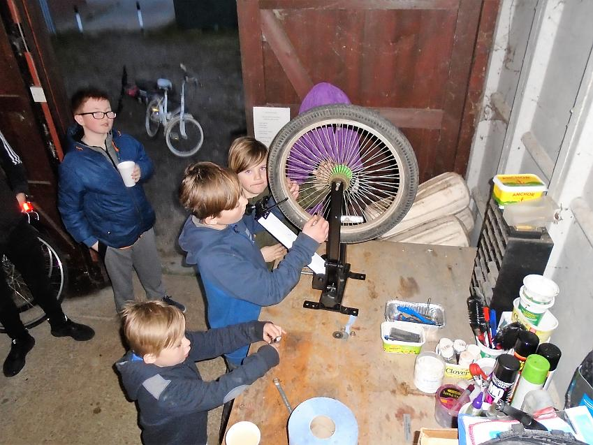 The Bike Kitchens give local children a fun place to go