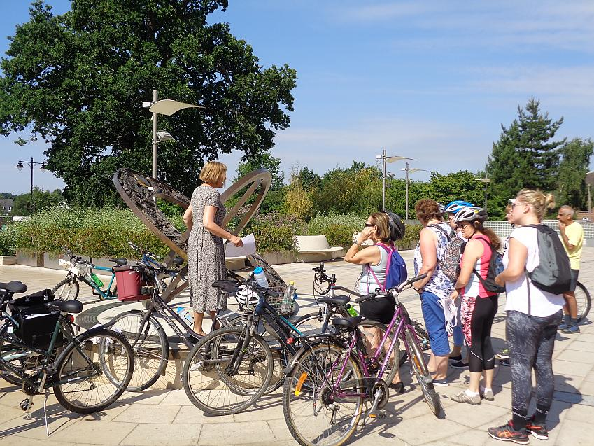 Gathering at the Heritage Sundial
