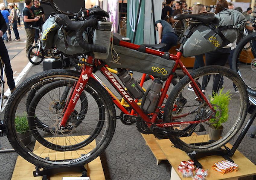 Shand, Jenny Graham's bike