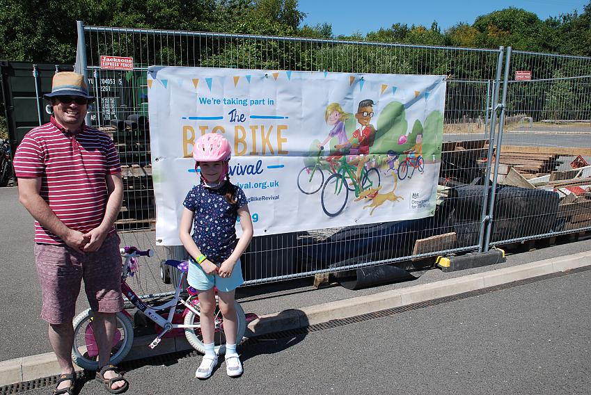A successful Big Bike Revival day for Prudence