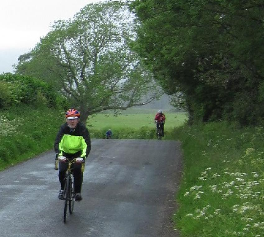 Riders on the Eden Valley Tri-Vets. Photo by Bill Openshaw