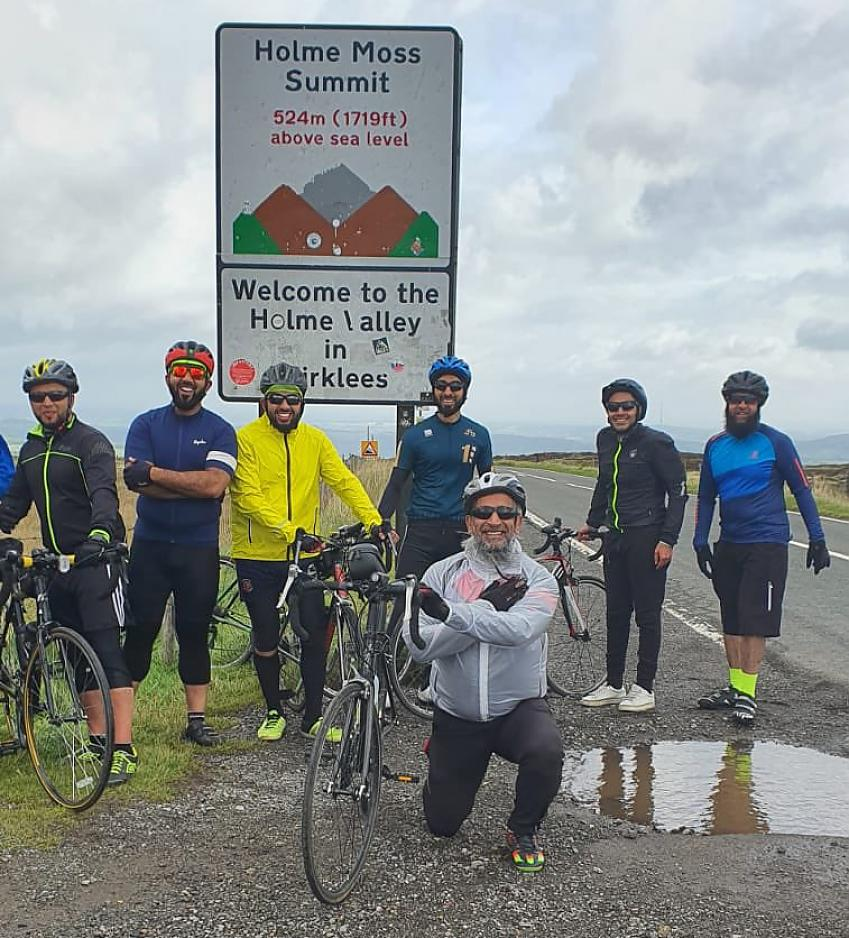 """""""We had plenty of #cyclists out on Saturday on various #rides of different abilities.  All taking part in #WBBR2020. Well done to all the cyclist. The group & their abilities continue to grow. """""""
