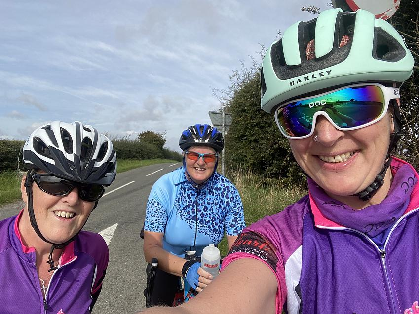 """""""Fab 38 mile ride out with friends for #WorldsBiggestBikeRide #WBBR2020 """""""