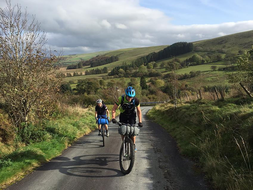 Cyclists in the Elan Valley by Emily Chappell