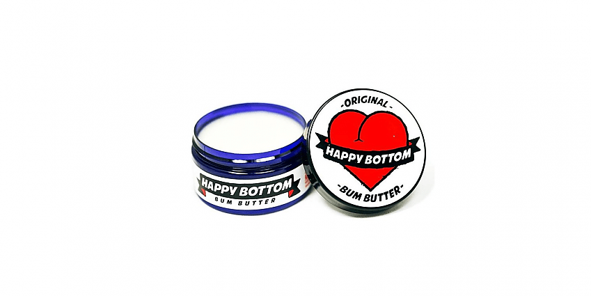 Happy Bottom Bum Butter - vegan cycling chamois butter
