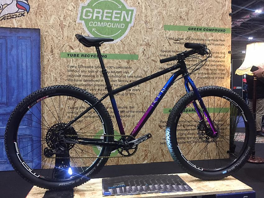 Isen Workshop's Mountain GOAT on the Schwalbe stand