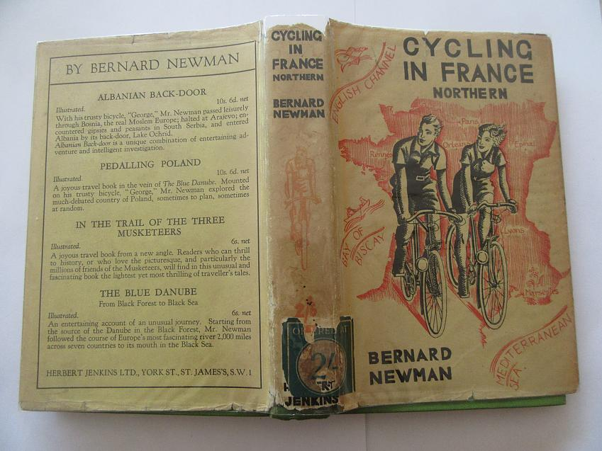 Bernard Newman's writings were inspirational to adventure-seeking cyclists
