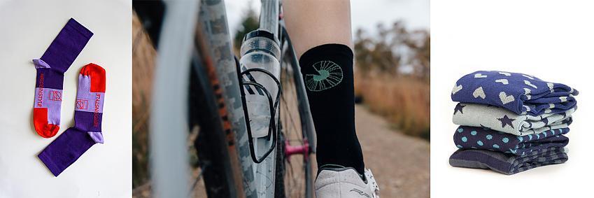 IRIS and Bamboo socks