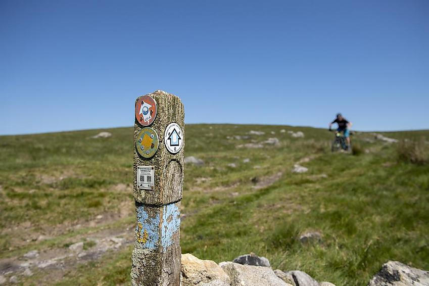 Only two of England's long distance trails can be ridden from start to finish