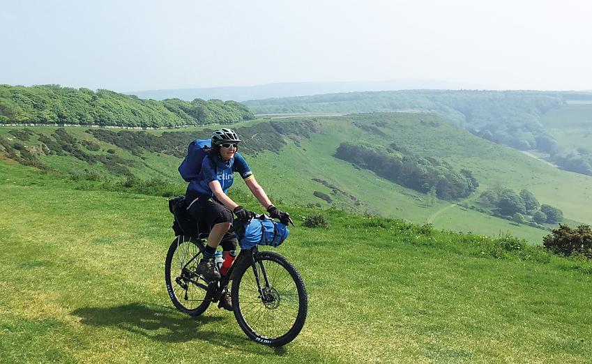 The Bombtrack was well suited to the Dorset Gravel Dash, a 100-mile journey on road and off
