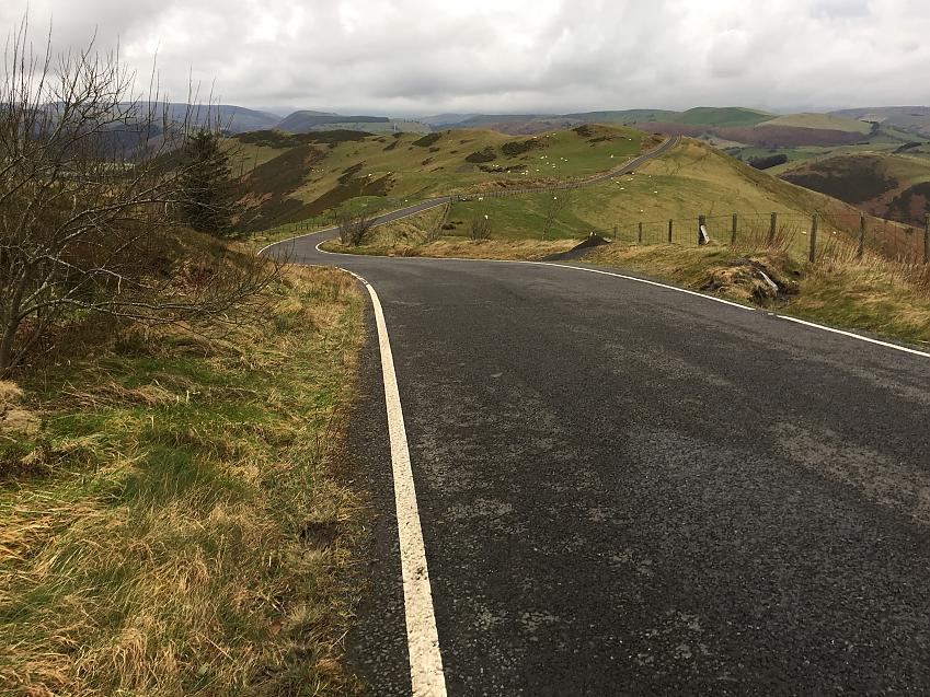 The view on the Machynlleth loop