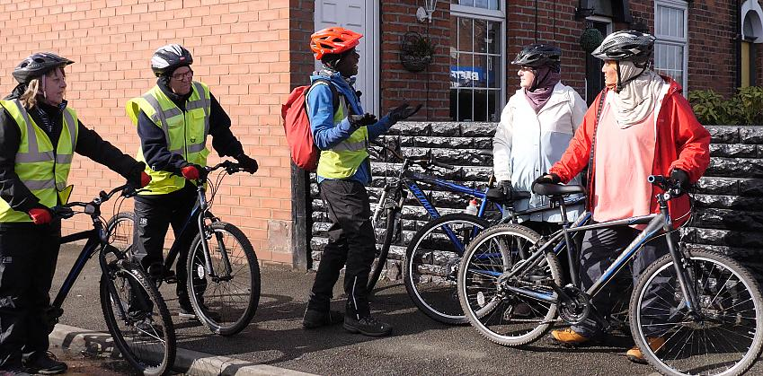 The Cycle for Health scheme helps people build cycling into their lives