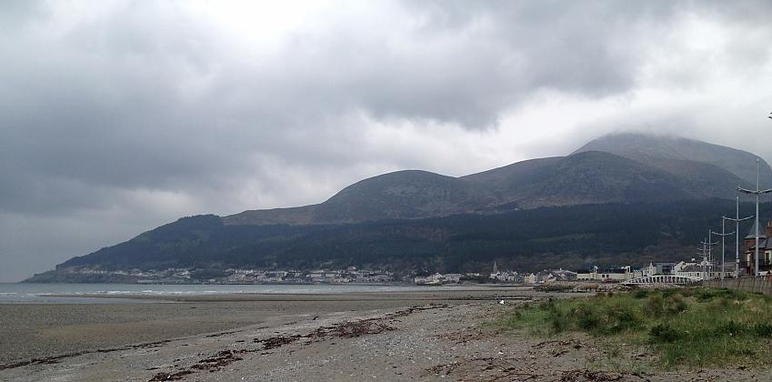 Mourne Beach in Northern Ireland