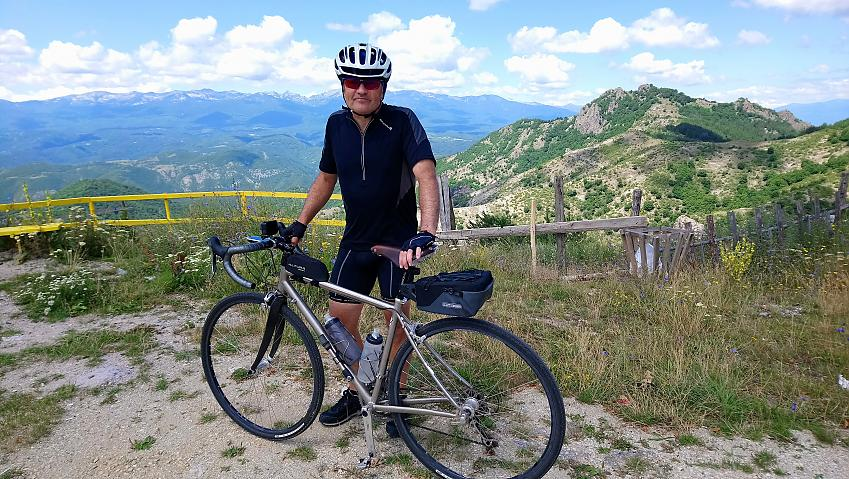 Neil in the Rhodope mountains of Bulgaria