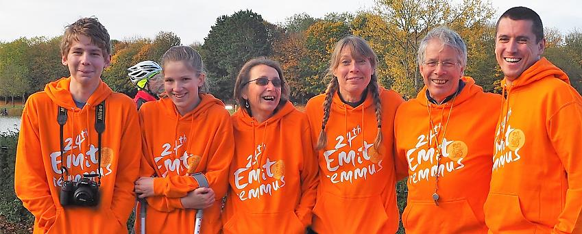 Some of the wonderful Emitremmus ride makers. Photo by Jim Brown