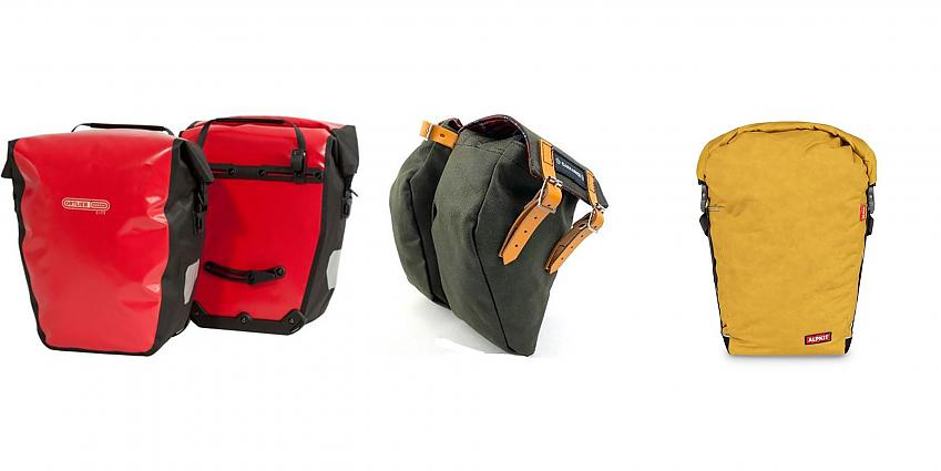 Selection of panniers