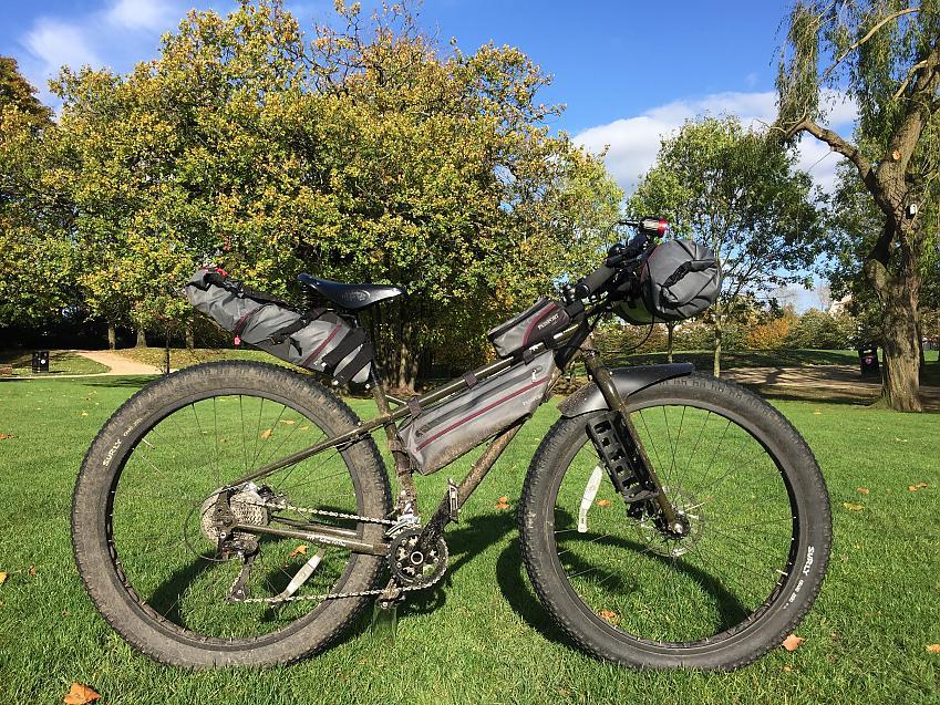 Passport full range of bikepacking gear