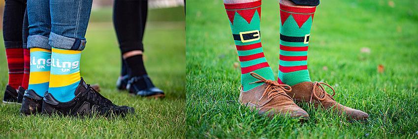 Primal's Cycling UK and Elf socks