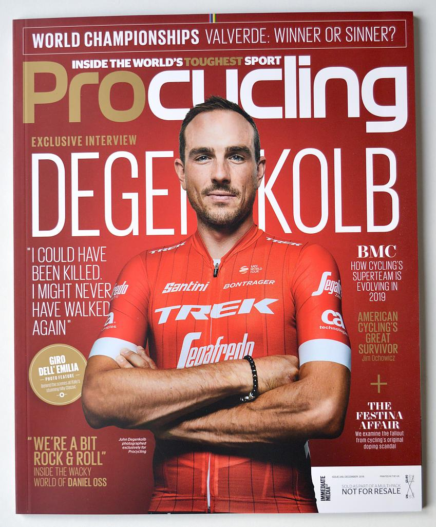 Procycling cover 2018