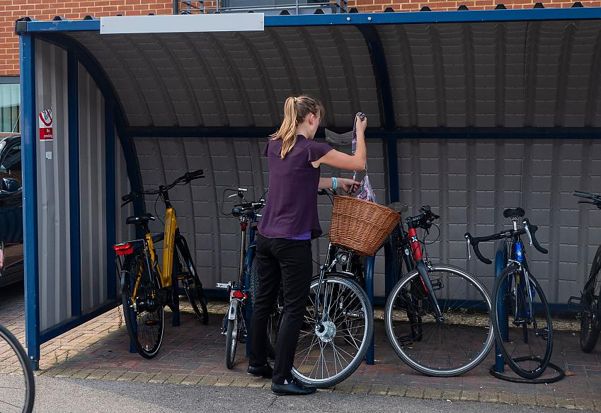 A lack of proper cycle storage is a key cycling deterrent