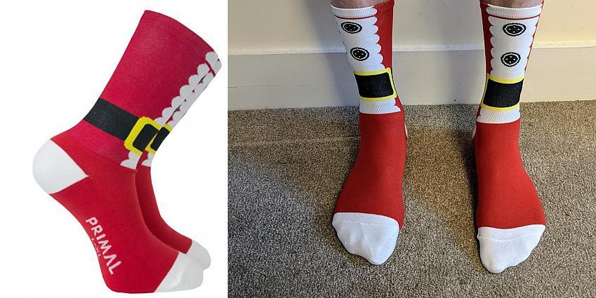 Primal Santa socks