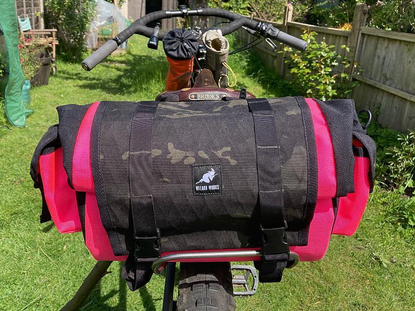 Shazam saddle bag