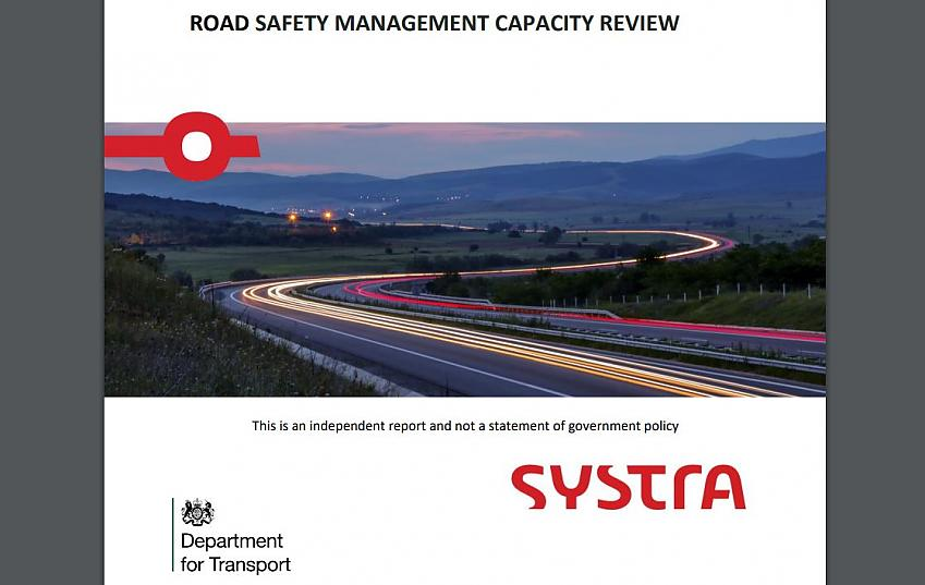 Front cover of Road Safety Management Capacity Review
