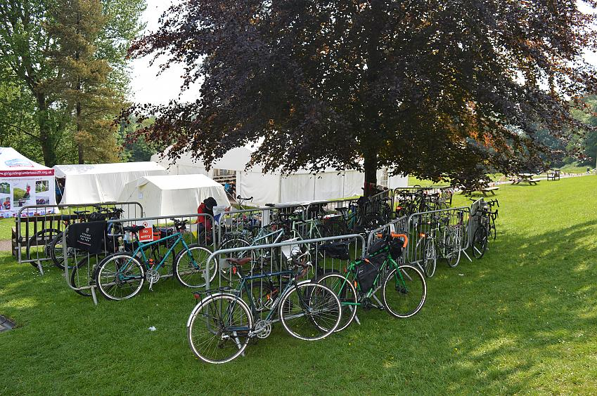 Tourer and bikepacking bikes at the Cycle Touring Festival