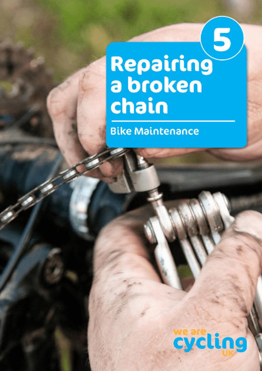 Repairing a broken chain