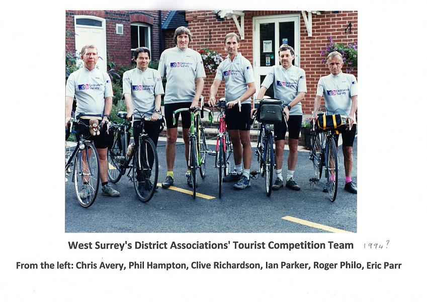 Tourist Competition team for West Surrey in 1994