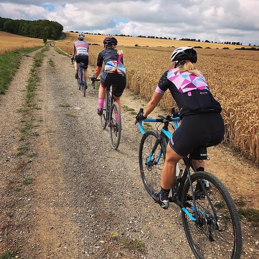 Jen Lewis is passionate about seeing more women on bikes