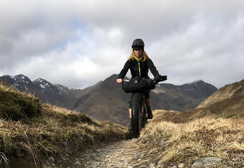 Lee Craigie riding from Kirkhill to Kintail