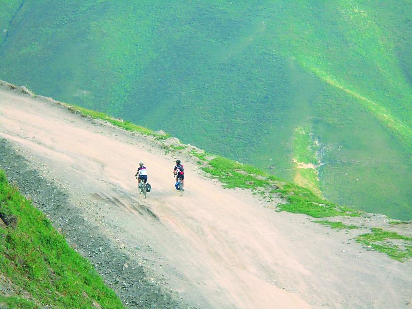 Climbing the Tian Shian Mountains in Kyrgystan