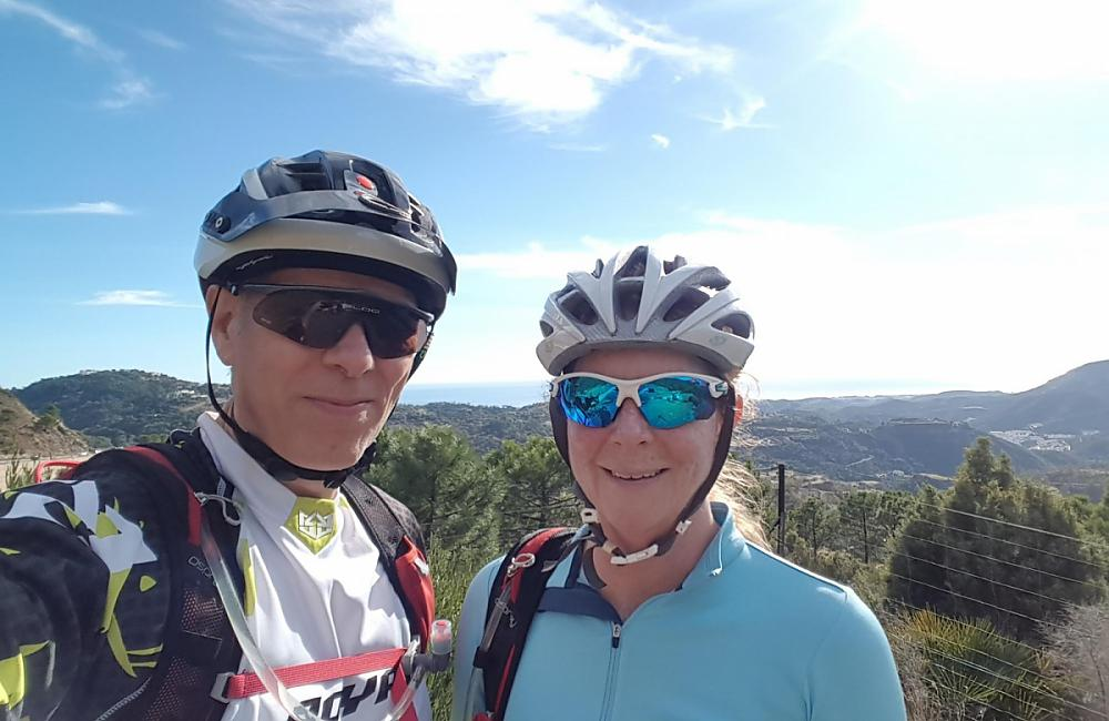 Carl and Sara in Andalucia