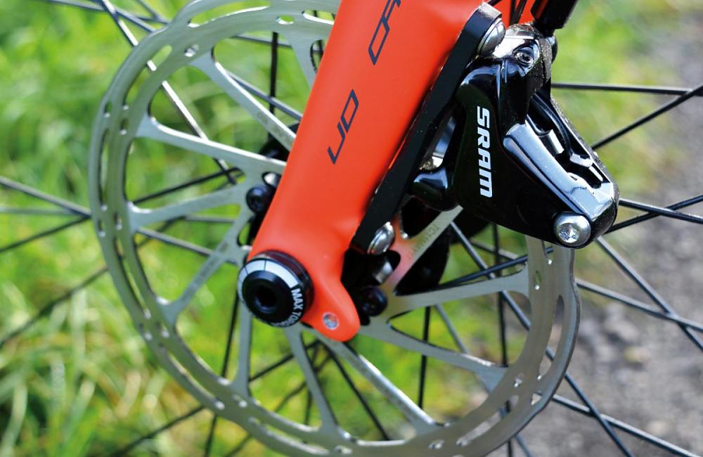 Hydro brakes, stiff hubs and no brake rub