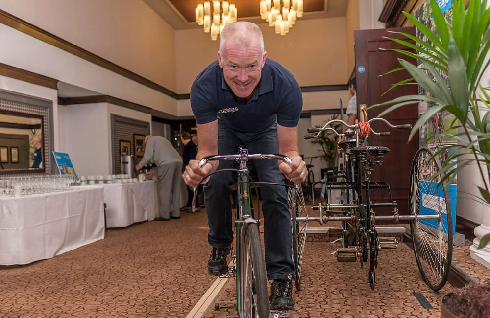 Paul Tuohy on a classic Raleigh Tourer