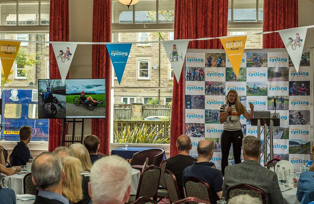 Cycling UK member Natalie Wilson talks about her incredible journey