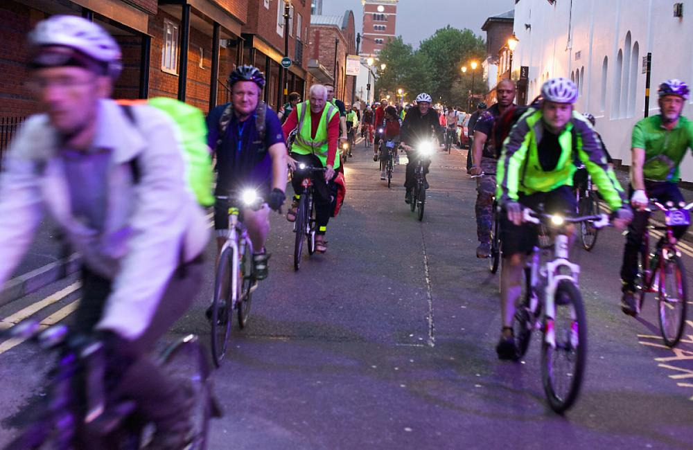 Birmingham Space for Cycling ride